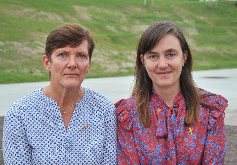 SAMMENOMFOREBYGGING:Nittedølene Kristin Grøstad (t.v.) og Tiril Broch Aakre sitter begge i styret til Leve Akershus, som mandag 10. september setter forebygging av selvmord i nærmiljøet på dagsorden i Kulturverket Flammen.