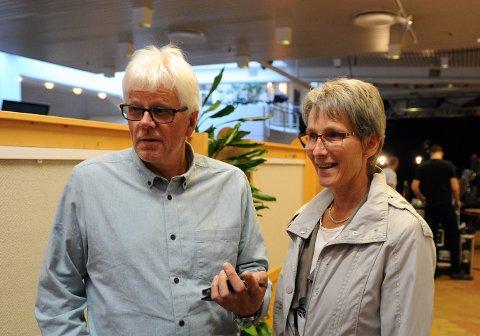 Ranveig Ødegård og Jon-Erik Gjelten.