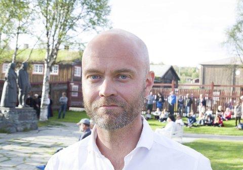 Seksjonsleder: Vegar Dahl er seksjonsleder på BUP Røros, og forteller at henvisningene er flere, og barn og unge sykere, enn tidligere. (Arkivfoto)
