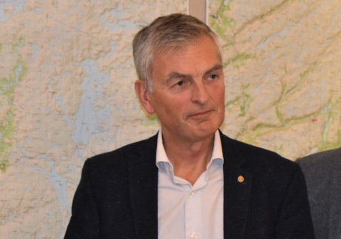 SIRA-KVINA SJEFEN: Administrerende direktør Gaute Tjørhom i Sira-Kvina