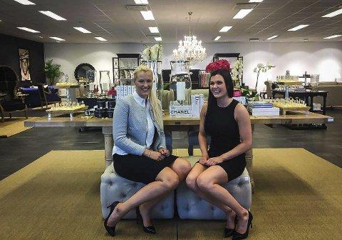 Ariel Sudmann og Jeanette Ones Granberg starta for nokre år sin eigen nettbutikk. I Knarvik har dei hatt «showroom» og lager på over 300 kvadrat. No gjev dei opp eventyret.