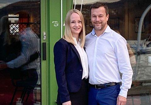 Christine Løksti og Henry Hansen stenger nå Rognan hotell.