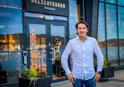 Rodrigo Belda er daglig leder på Delicatessen i Bodø.