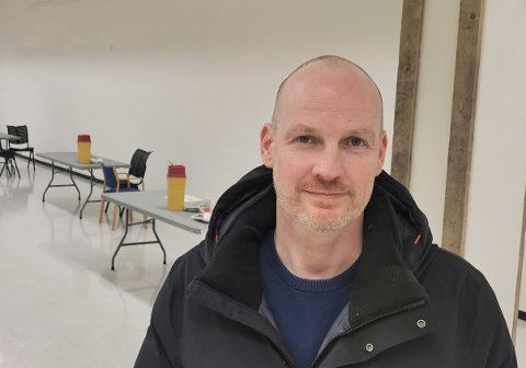 Helseleder Stian Wik Rasmussen i Bodø kommune.