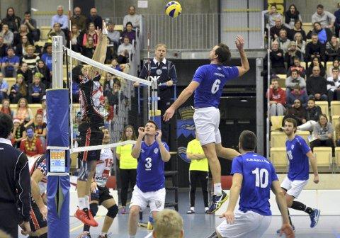 TIF Viking blir historiske når de som første norsk lag noensinne skal spille i Mesterligaen i volleyball.