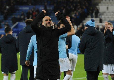 Manchester City og manager Pep Guardiola fikk en smell mot Crystla Palace sist, men på 2. juledag tror vi de slår tilbake.  .(AP Photo/Rui Vieira)