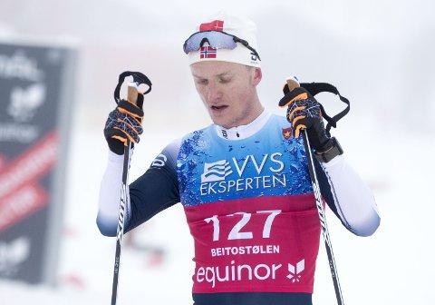 Vossingen Vebjørn Turtveit har hatt en overbevisende helg på Beitostølen.