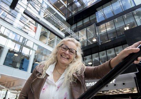 FORESLÅR FLYTTING: Ved å flytte NRK sin IT-satsing hit til Medielandsbyen kan NRK ytterligere styrke det verdensledende teknologimiljøet i Bergen, mener Ruth Grung (Ap). – NRK må selv bestemme hvordan de skal organisere seg, svarer Kulturdepartementet. FOTO: ARNE RISTESUND