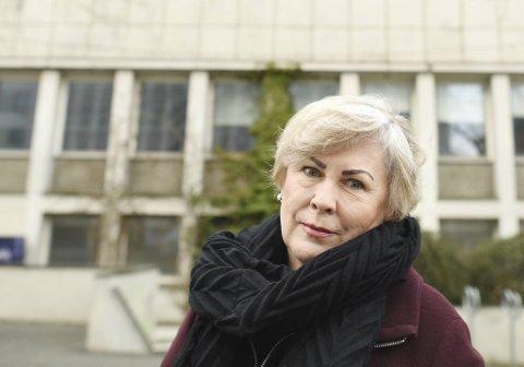 Aud Karin Oen, lokallagsleder i Utdanningsforbundet i Øygarden.