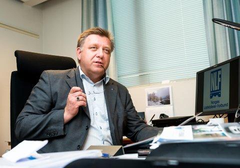 Adminmistrerende direktør i Norges Lastebileier-Forbund Geir A. Mo.