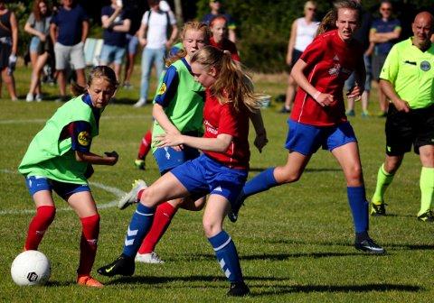 BLIR SAKNA: Mange jenter og gutar i Dalane hadde også i år gledd seg til å reisa til Frederikshavn for å spela cupfotball i sommar.. Det blir det ikkje noko av; Cup no. 1 er avlyst. Biletet er frå eit oppgjer mellom Eiger og Bjerkreim på cupen i fjor.