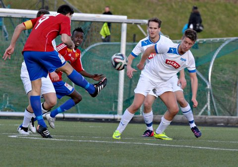 SCORET TO: David Tavakoli scoret to av Skeids mål.