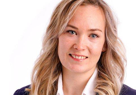 Tonje Adelsten Lyngås er 2. kandidat for Senterpartiet i Øvre Eiker