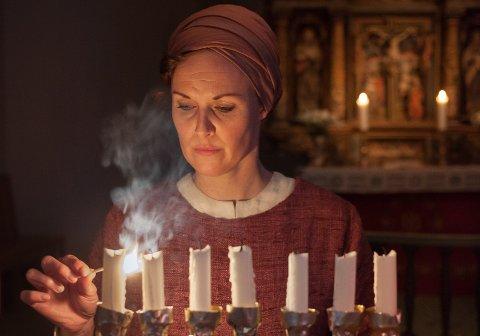 Idun Losnegård i rolla som Miriam. Foto: Oddleiv Apneseth