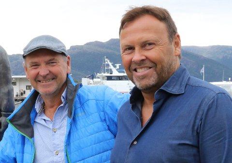 Norwell-gründerane Per Vidar Ottesen og Kjell Einar Haugen.