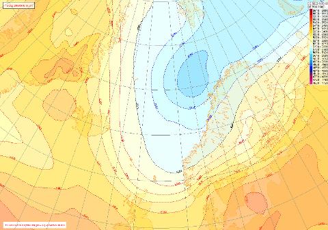 KALDARE: Frå og med onsdag av vil kaldluft frå nord trekke inn over landet, og gi oss låge temperaturar, opplyser flymeterolog Kristin Seter ved Meterologisk institutt.