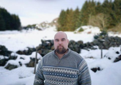 UENIG: Svein Jarle Høydal Løseth håpar SUM vil tenke nytt om plastinnsamlinga.