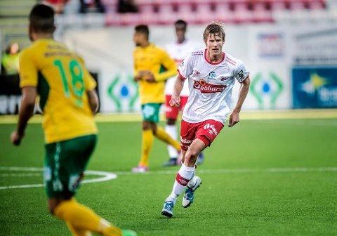 To ny år: Ulrik Flo skev toårskontrakt.