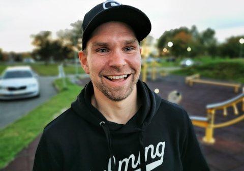 GLA'GUTT: Sleviks mangeårige kaptein, 31-åringen Thomas Stræte, er uhyre nær å knipe en rekord få - om noen, er i stand til å slå.