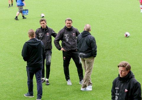 Bjørn Johansen og FFK tok med seg ett poeng hjem fra Ranheim fredag kveld.