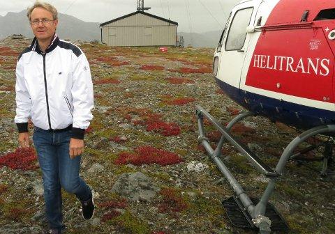 BYGGER UT: Dekningsdirektør i Telenor, Bjørn Amundsen står bak utbygging av 4G på ikke mindre enn 20 basestasjoner i Ofoten.