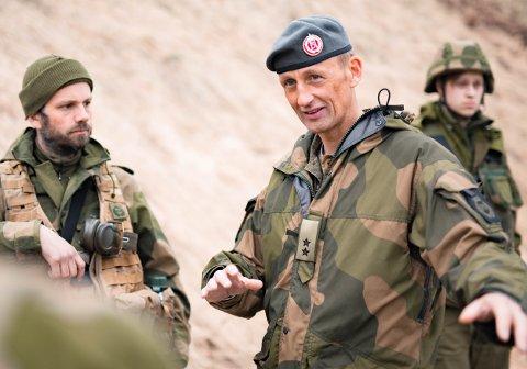 NY JOBB: Eirik Kristoffersen fra Bjerkvik ble tirsdag utnevnt som ny forsvarssjef.