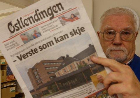 ILLE: – Det er virkelig ille at man ikke ser at det er stort behov for akuttsykehus i Elverum, sier varaordfører og beredskapskoordinator Rune Sørlie i Åsnes.