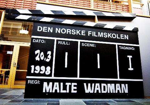 KANSKJE FREMRAGENDE: Den norske filmskolen ble etablert i 1998. Institusjonen markerer seg på mange områder. Arkivfoto