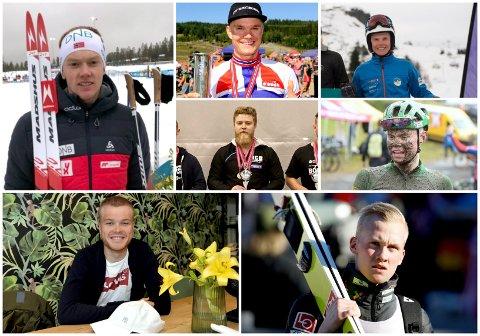 Disse sju får talentstipend av Sparebank 1 Østlandet.