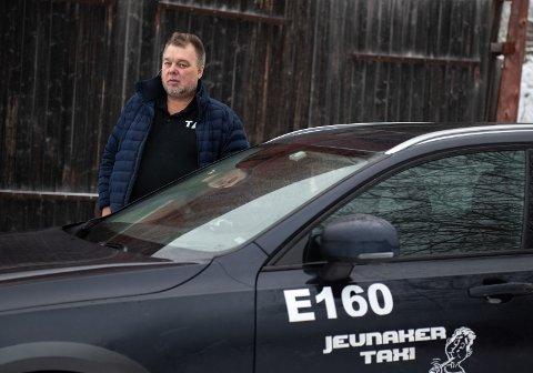 Geir Lia i Jevnaker Taxi.