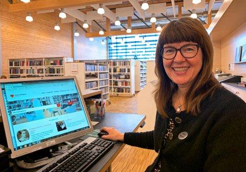 Ny jobb: Wenche Nyaas slutter som biblioteksjef i Gran.