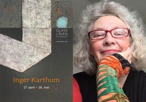 MALERI OG GRAFIKK: Inger Karthum skal ha salgsutstilling på Glasslåven.