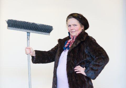 BESTEMT: – Tante Gerda kunne være temmelig bestemt, men hun var også veldig snill, sier Kirsti Hougen.