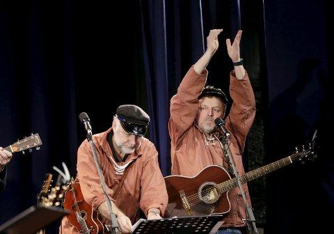 Slogmåkane: Sammen med Geir Halleland  gir de en gratiskonsert lørdag under Skudefestivalen.