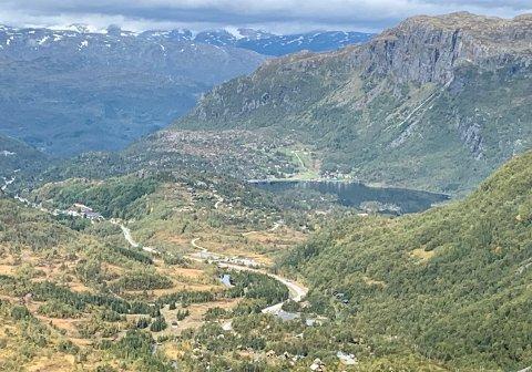 SELJESTAD: Dagens E 134 mellom Korlevoll og Røldal skal erstattes med en tunnel. Innslaget på Seljestad-siden skal inn i fjellet ved Hesjabakk.