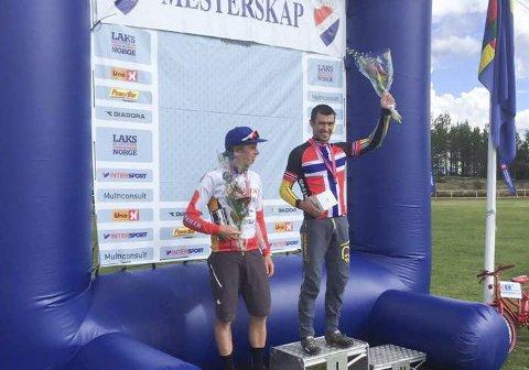 NORGESMESTER: Årets mål var å vinne NM i terrengmaraton, og Yngvar Alexander Hansen innfridde. FOTO: PRIVAT