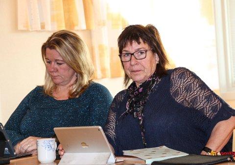 Lisbeth Krutnes og Sølvi Andersen (t.h.) kan bli duoen som skal styre Hattfjelldal etter valget.