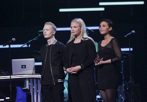 Pasemaker fra Alta består av vokalist og låtskriver Anne Gudrun Michaelsen og produsent Esben Thomassen Andersen. På fredag står de på scenen sammen med Andrea Dahle i The Stream.  Foto: TV 2 Kommunikasjonsavdelingen