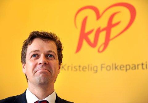 Knut Arild Hareide. Foto: Terje Pedersen, ANB