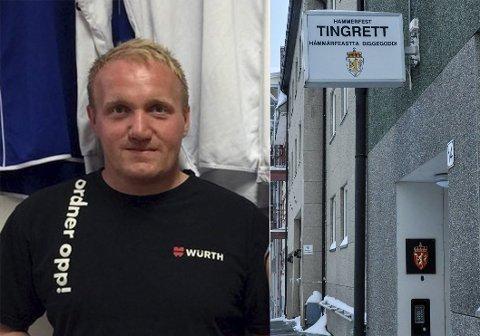 MÅ MØTE SKATT NORD I RETTEN: Daglig leder for snekkerfirmaet Din Tømrer AS, Ørjan Duurhuus, må møte i Hammerfest tingrett etter at Skatt Nord har begjært selskapet konkurs, blant annet på grunn av ubetalt moms.