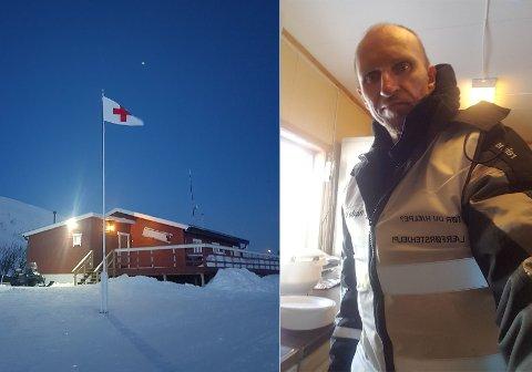 SPENNENDE TID I VENTE: Tom Østli (46) har aldrig før vært i Russland, men nå har han kjøpt seg hus der og skal starte med gårdsdrift. Først må han låse døra på Røde Kors-hytta.