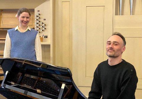 LIED: Både Charles Mignot og Sunniva Eliassen deler en interesse for den tyske klassiske sjangeren lied.