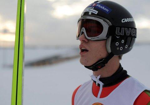 Daniel-André Tande var i aksjon i japanske Sapporo lørdag. Her fra et tidligere renn.