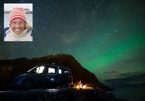Kari Schibevaag bor i bilen.