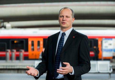 Store planer: Jernbanen står overfor et historisk løft. Det arbeidet skal gjøres skikkelig, skirver Ketil Solvik-Olsen i denne kronikken om jernbaneutbyggingen. Foto: Scanpix
