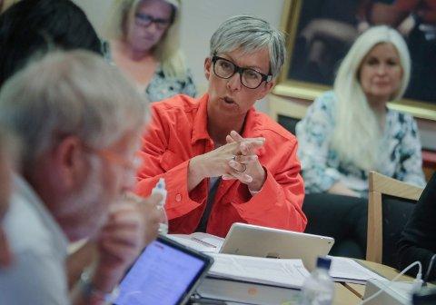 Kutter: Ordfører Hanne Tollerud (Ap) er fornøyd med at utgiftene til konsulentbistand er redusert fra 6,5 millioner til tre millioner.