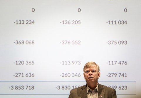 KREVENDE ÅR: Kommunedirektør Hans Reidar Ness mener at det er et godt resultat Moss kommune leverer, siden det har vært et krevende år.
