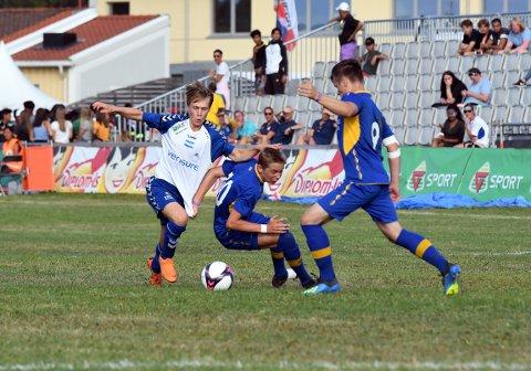 BARE NESTEN: Rasmus Eggen Vinge satte inn 2-1, men Nordstrand tapte finalen.