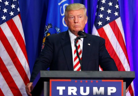 Republikanernes presidentkandidat Donald Trump endrer på valgkampstaben nok en gang. Foto: NTB Scanpiz