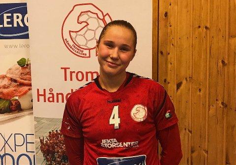 SEIER: Tea Strandmo og THK tok alle poengene mot Østsiden Fredrikstad søndag. Her fra en tidligere anledning.